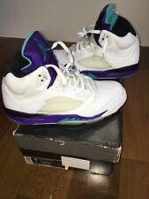 2006 Jordan Grape 5's Retros Air Jordan Size 12 W/ Original Box & LaceLocks