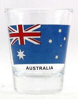 AUSTRALIA FLAG SHOT GLASS SHOTGLASS