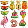 Flamingo/Pineapple Fruits Foil Balloon Baby Shower Birthday Party Supplies Decor