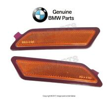 NEW BMW 320i 328d 335i xDrive Pair Set of 2 Front Reflector Bumper Cover Genuine
