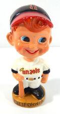"1967 Sports Specialties ""angels"" Bobblehead Nodder Gold Base CALIFORNIA"