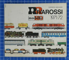 Elektrische Modellbahn Rivarossi H0 modello 1971-72 Katalog Eisenbahn B-18919
