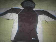 Brand New Girls Parka Medium Red Ledge Lined Winter Jacket Coat Ski Snow Brown