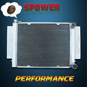 Aluminum Radiator For Mazda RX7 RX5 RX4 RX3 RX2 S1 Without Heater Pipe MT 56MM