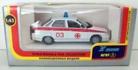 AGAT 1/43 - GAZ 2110 LADA 110 1.5I RUSSIAN MEDIC CAR AMBULANCE