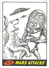Mars Attacks Heritage Sketch Card: Neil Camera