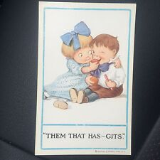 1900's Vintage Reinthal & Newman Postcard Them That Has - Gits # 158 Nos