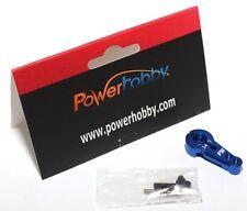 Powerhobby 24T Aluminum Hitec Servo Horn Blue : HS-5625MG HS-5645MG