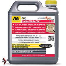Fila Salvaterrazza 5 litri Protettivo Anti Infiltrazioni E Consolidante terrazzi