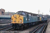 British Rail 40084/40086 Silver Jubliee Railtour York 05/03/83 Rail Photo h