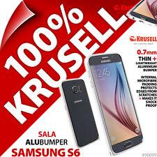Krusell Sala alubumper Funda para Samsung Galaxy S6 Slim Aluminio Parachoques