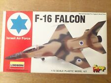 1:72 Lindberg no. 70954 F-16 FALCO ISRAELIANO AIR forza. kit. conf. orig.