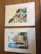 2 Old Cruise Ship Programs! Both Are December 27th 1953 Vintage
