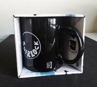 NIB Sherlock Holmes Mug I Love Sherlock Heat Reveal Coffee Cup BBC New Detective