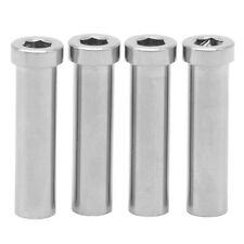 Ti Titanium Nuts Major For Road Bike Brake Caliper M6x11.5/18.5/22/30/33mm 2pcs