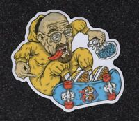 Walter, Breaking Bad, Skateboarding Vinyl Sticker