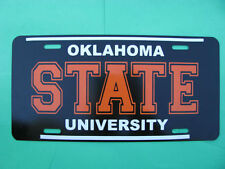 License Plate, Oklahoma State University, NEW