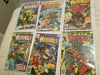 Werwewolf By Night 38 39 40 41 42 43 ot Bronze Age Marvel Horror