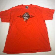 Harley Davidson Motorcycles Durango Colorado Large S/S Logo T Shirt [DG14]