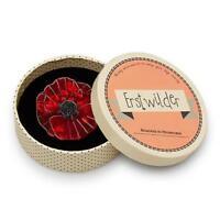 Erstwilder brooch Poppy Field new in box