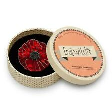 Erstwilder brooch Poppy Field new in box