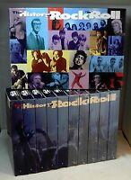 The HISTORY of ROCK 'n' ROLL - Time-Life 10 VHS Set in ExC (1995)