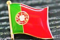 PORTUGAL Portuguese Metal Flag Lapel Pin Badge *NEW*