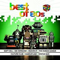 BEST OF 80S  - SOFT CELL, TEARS FOR FEARS, CAMOUFLAGE, CAMEO - CD NEUF