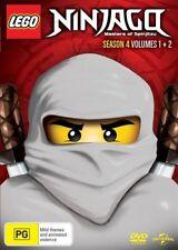 Lego Ninjago Masters Of Spinjitzu Season 4 Volume 1 & 2 DVD R4