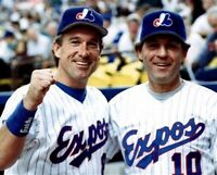 Guy Lafleur Montreal Canadiens with Gary Carter Expos 8x10 Photo