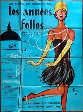 Affiche LES ANNEES FOLLES Charleston Pin-Up BRENOT 120x160cm