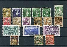 Schweiz o - aus 1909 - 1915 - KW 183,-- €  ( 13829 )