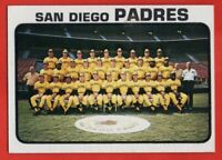 1973 Topps #316 San Diego Padres Team EX-EXMINT+ MARKED Nate Colbert FREE SHIP