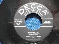 """JACKIE LEE COCHRAN 7"""" repro 45 - Ruby Pearl"""