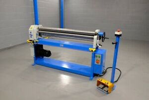 Mach Roll 1300mm X 1.5mm  power operated bending rollers  rolls  vat inc