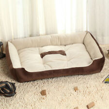 Couchage, paniers et corbeilles noir coton pour chien