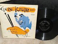 Gene Krupa Quartet LP on CLEF Label MG-C-668..Original 1955 Mono..50's Jazz NICE