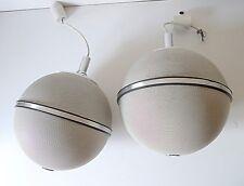 GRUNDIG audiorama haut-parleurs vintage paire d'enceintes boule design
