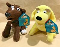 LIKE NEW! GUIDE DOGS PROMOTIONAL HOME HARDWARE DOGS SANDY & RUSTY PLUSH TOYS!