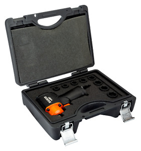 """Bahco BPC813K1 1/2"""" Square Drive Micro Impact Wrench Set with Ultra Short Socket"""