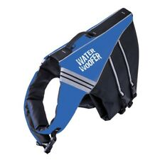 Water Woofer DFD Dog Flotation Device - Quality Buoyancy Aid - Blue Life Jacket