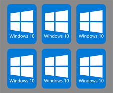 80 Windows 10 stickers Decals for laptops computers