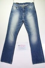 Lee Reed Bootcut (Cod. Y1250) tg 47 W33 L36 jeans vita alta usato vintage zampa
