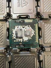 QTY 1x Intel Core CPU i5-560M Dual-Core 2.67Ghz PGA988 SLBTS Socket G1 laptop