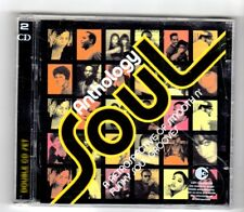 (HY253) Soul Anthology, 43 tracks various artists  - 2004 double CD