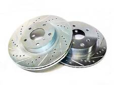 P2M FRONT BRAKE ROTORS DISCS FOR 89-98 NISSAN 240SX S13 S14 W/O ABS - PHASE 2