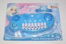 Jeu Jouet Lampe Musicale Petit Piano 13 cm Reine des Glâces Bleu Clair NEUF