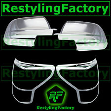 07-09 Toyota Tundra Chrome plated Mirror Cover Crew Max double cab+TailLight