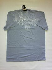 BNWT Zoo York Men's t-shirt Sz XL new Htr Blue