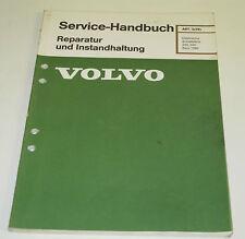 Werkstatthandbuch Volvo 240 / 260  Reparatur Elektrische Schaltpläne Stand 1980